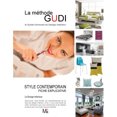 Fiche explicative du style de design Contemporain