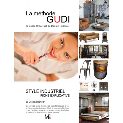 Fiche explicative du style de design Industriel