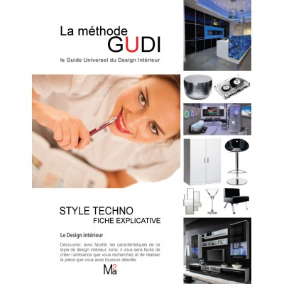 Fiche explicative du style de design Techno
