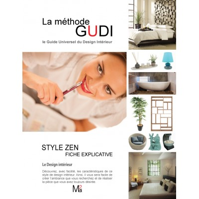 Fiche explicative du style de design Zen