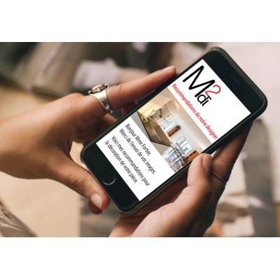 Réaliser votre décor grâce aux services de notre designer professionnelle en ligne.